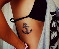 Cute Anchors Tattoos for Girls Pin Cute Foot Tattoos For Women Pinterest