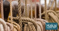 """""""Rope and knots are the building blocks of civilization. They pervade all aspects of our world."""""""