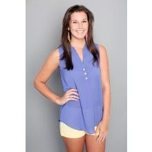 Rumor Has It Tank-Lavender - $40.00