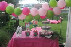 Watermelon + Flamingo First Birthday Party // Birthday Party Ideas for 1st Birthday