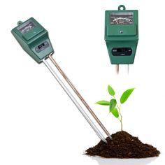 New 3 in 1 Soil PH Tester Garden Plant Flowers Soil Water Moisture Meter for Gardening Farming Acidity Moisture Digital PH Meter