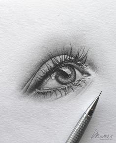 drawing of an eye close up I Pencil Art idea I Eye drawing realistic . Sketchbook drawing of an eye close up I Pencil Art idea I Eye drawing realistic . - -Sketchbook drawing of an eye close up I Pencil Art idea I Eye drawing realistic . Easy Pencil Drawings, Pencil Sketch Drawing, Art Drawings Sketches, Drawing Base, Drawing Drawing, Drawing Step, Drawing Of An Eye, Figure Drawing, Closed Eye Drawing