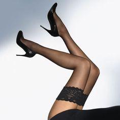 Sexy Legs And Heels, Hot High Heels, High Heel Boots, Stockings Heels, Black Stockings, Stockings Outfit, Nylons Heels, Thigh High Tights, Thigh Highs
