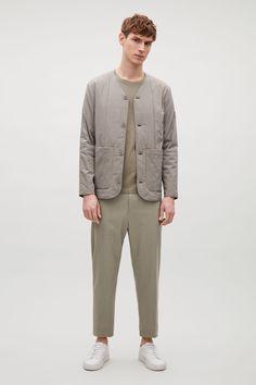 COS | Padded v-neck jacket