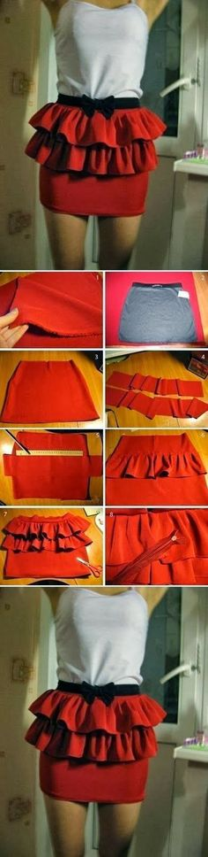 My DIY Projects: Easy Skirt Modification ~ Only Fashion