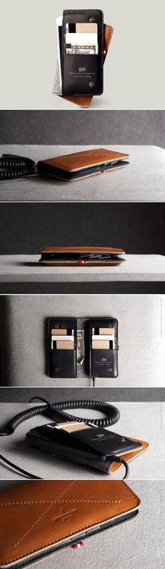 #hardgraft Mighty Phone Fold Wallet