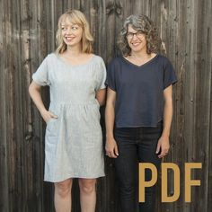 Fen Dress & Top PDF Pattern – Fancy Tiger Crafts