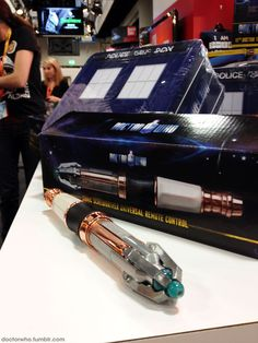 Introducing the Doctor Who Sonic Screwdriver Universal Remote Control -- I soooo want one!