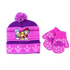 Paw Patrol Baby Toddler Girls Purple Bucket Hat Nickelodeon Everest Skye