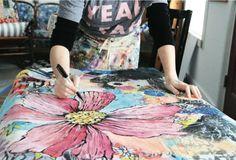 Making it Happen: A Mixed-Media Artist to Admire - Cloth Paper Scissors Today - Blogs - Cloth Paper Scissors