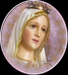Our Lady of Fatima, pray for us. Jesus Mother, Blessed Mother Mary, Blessed Virgin Mary, Mother Gif, Mama Mary, Mary I, Holy Mary, Fatima Portugal, Jesus And Mary Pictures