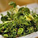 Baby Artichoke and Pea Shoot Salad Recipe Recipe Recipe - Saveur.com