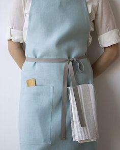 Kitchen Apron Pocket and Towel Loop