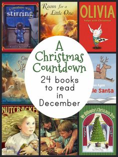 A Christmas Book Countdown - 24 picture books to read before Christmas