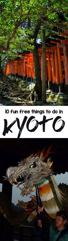 Kyoto doesn't have to be an expensive city to visit. Here's our list of 10 fun…