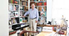 2017-08-01 19:40:22   Photo              Richard Meier in the study of his summer home, a farmhouse built in 1907.                                      Credit             Rebecca Smeyne for The New York Times                      Name Richard Meier Age 82 Occupation Architect Location East... - #Hamptons, #House, #Meiers, #Richard, #Summer, #Tour, #Us