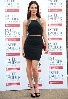 Love this! Jessica Lowndes shows just a sliver of skin.