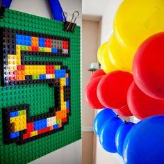 festa infantil para meninos - tema lego