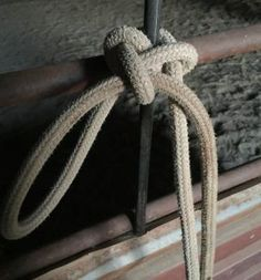 knots for tying horses Horse Camp, Horse Gear, Horseback Riding Tips, Best Knots, Knots Guide, Horse Care Tips, Lead Rope, Rope Knots, Horse Grooming