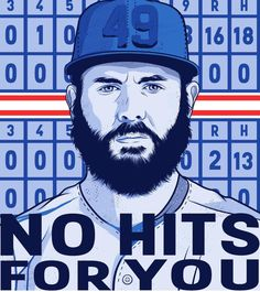 No hits for you! Jake Arrieta