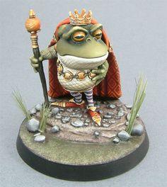 Visions in Fantasy - Frog King
