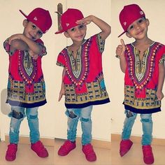 Wholesale Kids 2019 Child New Fashion Design Traditional African Clothing Print Dashiki T-shirt For Boys and Girls _ {categoryName} - AliExpress Mobile Version - African Dresses For Kids, African Children, Black Kids Fashion, Kids Fashion Boy, Zhuhai, African Men Fashion, Africa Fashion, African Women, Costume Africain