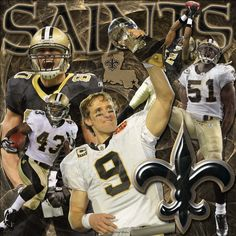 new orleans saints | If you like New Orleans Saints wallpaper, surely you'll love this ...