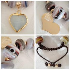 Elegant handmade woven bracelet adjustable and por PathysDesign