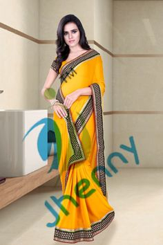 Yellow Sarees online @ Rs. 1710