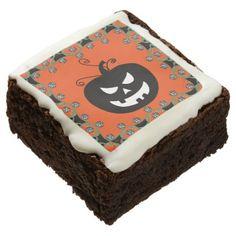 Halloween Treats Brownies - Halloween happyhalloween festival party holiday