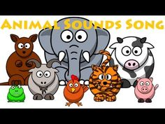 Animal Sounds Song - YouTube