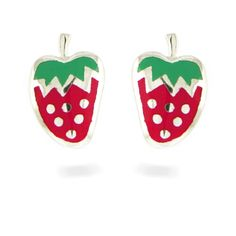 Strawberry earrings by Luxenter