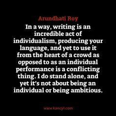 essay about arundhati roy