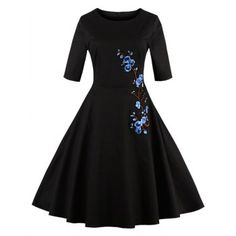 SHARE & Get it FREE | Half Sleeves Floral Embroidered Vintage DressFor Fashion Lovers only:80,000+ Items·FREE SHIPPING Join Dresslily: Get YOUR $50 NOW!