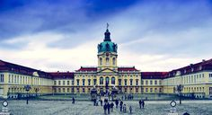 Charlottenburg Palace in Berlin, Germany.   Check out for more travel tips about Berlin!