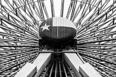 Detail of the center hub of the Texas Star Ferris Wheel in Dallas' Fair Park.  See more #photos at 75central.com #dallas #dfw #ferriswheel