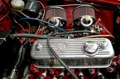 MGB Roadster.