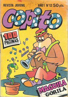 Revista juvenil Copito Nostalgia, Magazines For Kids, 80s Kids, We Remember, Comic Covers, Retro, Childhood Memories, Character Inspiration, Comic Art