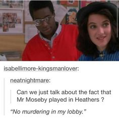 when i saw it was mr mosby i screeched