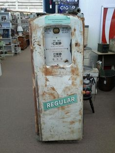 "$900 - Vintage Sinclair Gas Pump in as found condition. Would make a great restoration project - or use as is in the lawn or man-cave. Approximately 60"" tall x 22"" wide x 17"" deep. Located in booth G 9 at Main Street Antique Mall 7260 East Main Street ( East of Power Rd )  East Mesa 85207 480 924 1122 open 7 days 10 till 530 Cash or charge 30 day layaway also available"