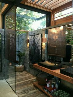 20 Amazing Open Bathroom Design Inspiration - The Architects Diary