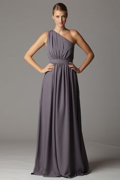 ONE SHOULDER BRIDESMAID DRESSES - Yuman Dakren