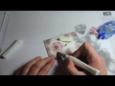How to Create a Beautiful Card Using Stampin' Up!'s New Touches of Texture Stamp Set - YouTube