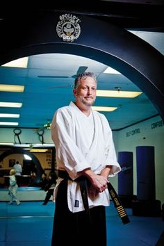 John Cook has taught martial arts at Apollo's Karate since he was 16. Cook is a sixth-degree black belt.