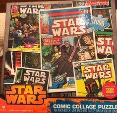 Star Wars Comic Collage Jigsaw Puzzle (1000 Piece) #StarWars
