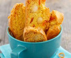 Cantuccini all'arancia e noci di Macadamia