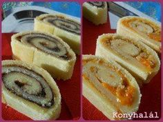 linzer worm Hungarian Recipes, Hungarian Food, French Toast, Cheesecake, Food And Drink, Cupcakes, Sweets, Snacks, Cookies