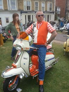 Orange and white. Upsetter!
