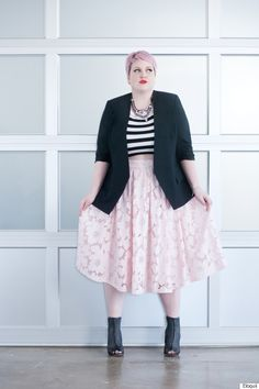 These bloggers could teach you a thing or two about plus-size style
