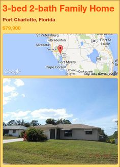 3-bed 2-bath Family Home in Port Charlotte, Florida ►$79,900 #PropertyForSale #RealEstate #Florida http://florida-magic.com/properties/77790-family-home-for-sale-in-port-charlotte-florida-with-3-bedroom-2-bathroom